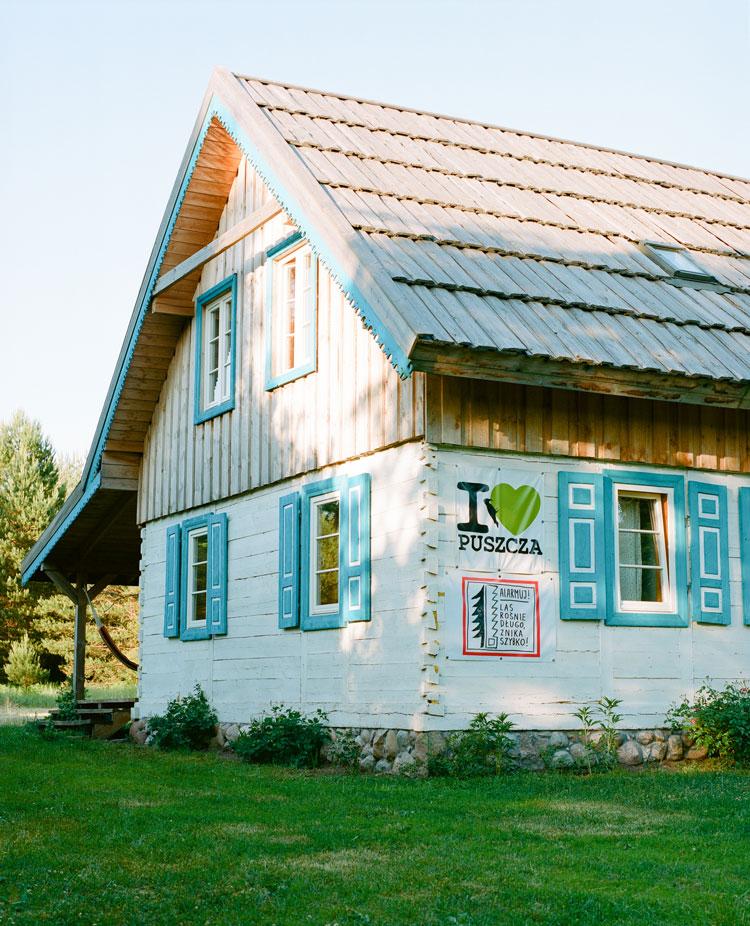 La maison d'hôtes de Marek.