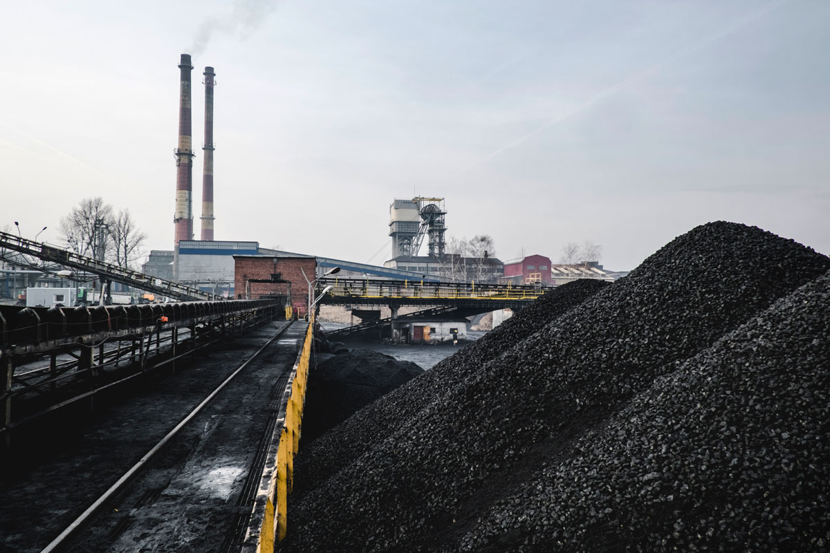 Katowice mine outside